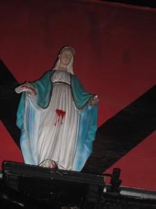 il santo votivo del Mezcal Squat